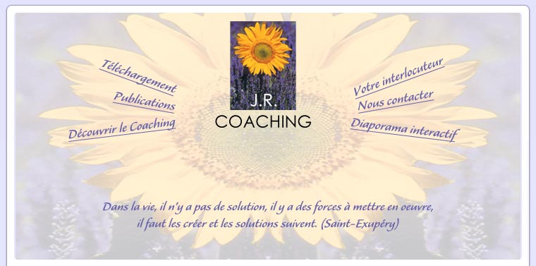 Bienvenue sur le site JR Coaching